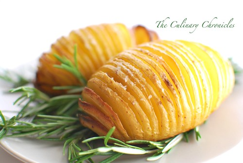 Rosemary-Garlic Hasselback Potatoes « The Culinary Chronicles