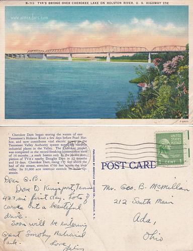 TVA Bridge - Cherokee Lake