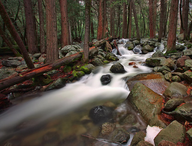 Bridalveil Creek Long Exposure