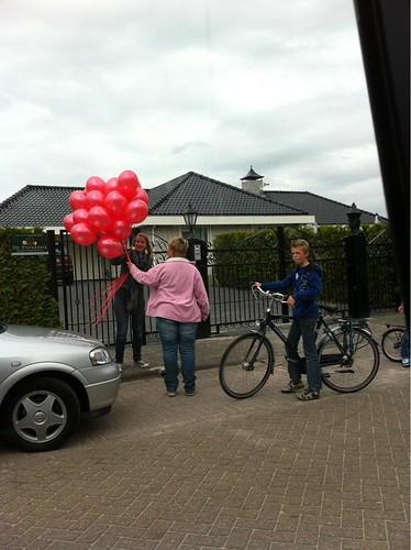 Heliumballonnen Frans Bauer Ik kom bij je eten