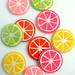 Molly's Sketchbook: Citrus Coasters