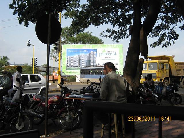 Kumar Properties' Kumar Palmcrest - 2 BHK Flats - off Katraj to Saswad Road - behind Savitiri Palace Mangal Karyalaya, on Khadi Machine Chowk (Kondhwa Road) to Undri Chowk - in Pisoli Gram Panchayat, Pune 411 028 - Khadi Machine Chowk
