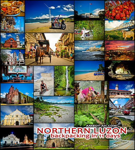 Northern Luzon Circuit: Trip around Cagayan, Ilocos, and Baguio for 11 days