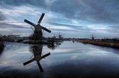 Kinderdijk (HDR) (Richard van de Velde) Tags: day cloudy hdr kinderdijk richardvdvelde richardvandevelde