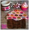Mug Rug & Roupinha de Caneca - CUPCAKES (**DASDE Artes!**) Tags: cupcake mugrug tapetedecaneca roupinhadecaneca
