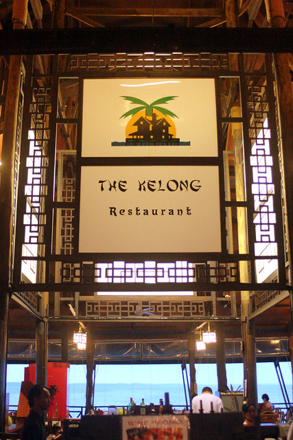 The Kelong Restaurant is a Chinese-style seafood restaurant