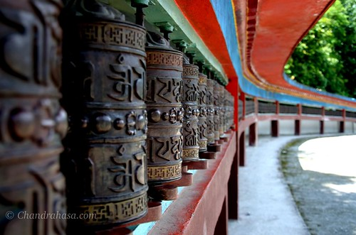 Prayer Wheels at Ranka