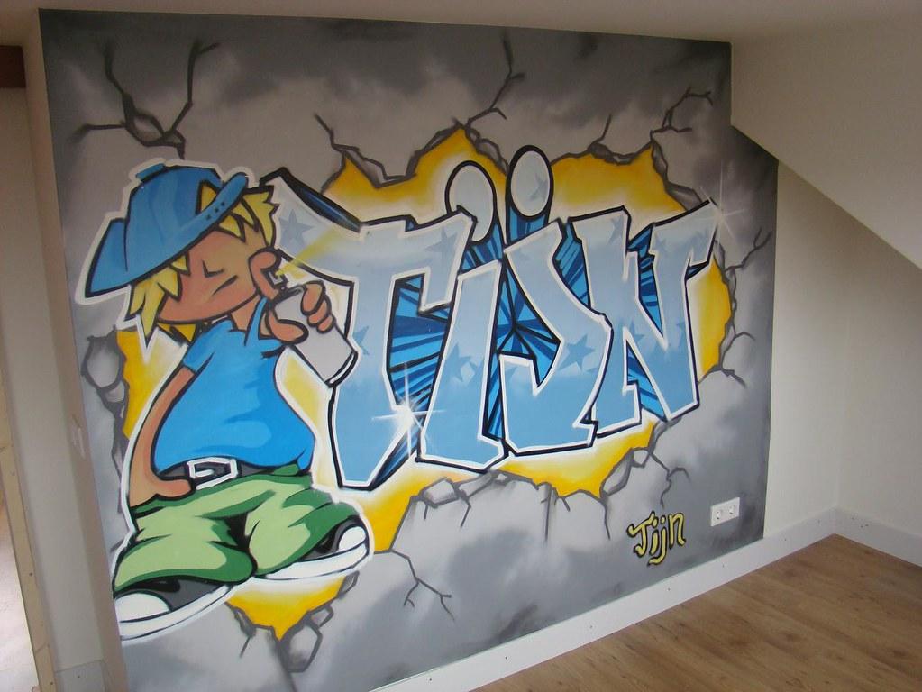 Behang Babykamer Utrecht : Graffiti behang. interesting fotobehang papier graffiti x cm with