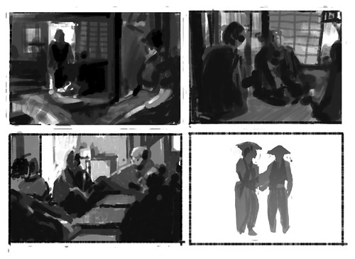 Kurosawa composition studies by camfloydVAULT