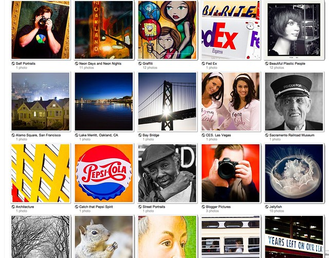 Album Thumbnail View on Google+