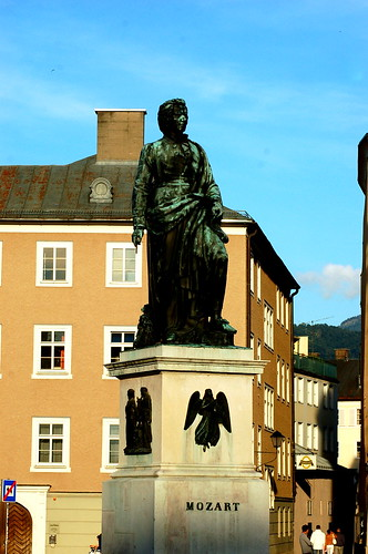 Mozart Platz, Salzburg Historic District 薩爾斯堡歷史城區 莫札特廣場