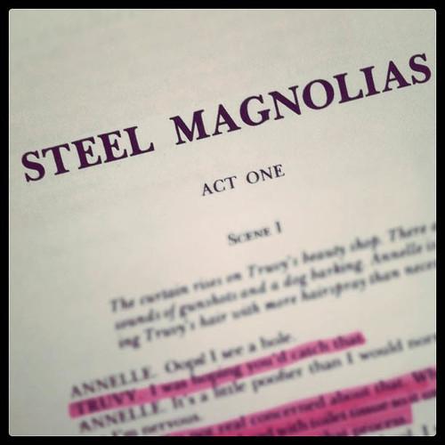 Steel Magnolias script