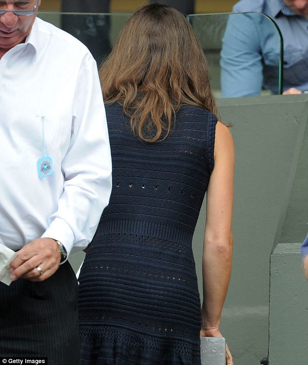 Pippa Middleton causes a stir on Wimbledon's Centre Court yet again   3