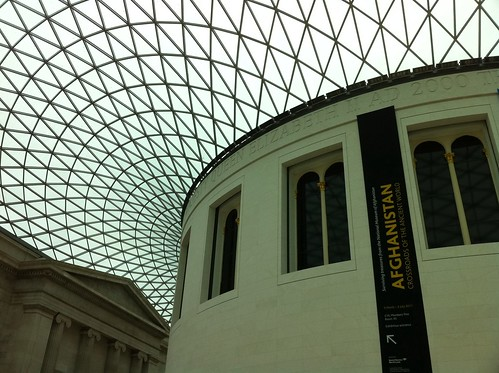 The main hall at the British Museum