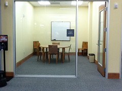 Glass Study Room, St. Charles Parish Library