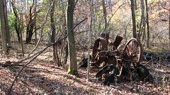 Remnants of a Farm (manonthestreetdotcom) Tags: junk rust farm manonthestreet haybailer