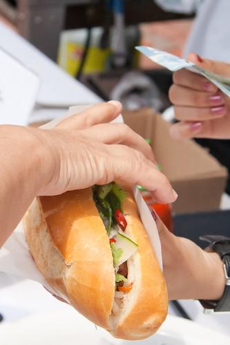 Food Truck Eats - Chicken Banh Mi