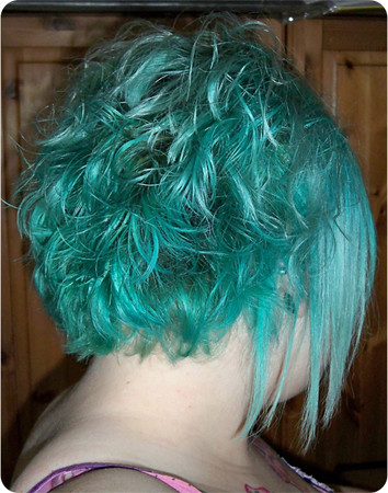 Hairstyle 7 - Faded Blue Cut Short