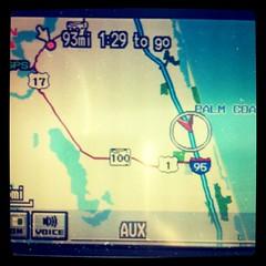 93 miles to go
