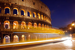 Roman Colosseum at Night (EXPLORE!) (Jeka World Photography) Tags: world old longexposure travel blue sunset italy rome history tourism jeff archaeology monument rose horizontal stone architecture night facade outdoors photography ancient streetlight europe traffic roman dusk stadium nopeople tourist illuminated colosseum journey empire coliseum headlight lighttrails amphitheater ancientcivilization thepast romanforum clearsky lazio ruined wonderoftheworld citystreet jeka romeitaly lighttrail ancientrome capitalcities traveldestinations colorimage famousplace jeffrose buildingexterior oldruin internationallandmark italianculture stagetheater builtstructure jekaphotography jekaworldphotography jeffrosephotography kalitharosephotography