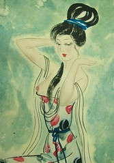 After Bath Beauty of Yang Guifei 中國古代歷史上四大美女之一 楊貴妃 Yang Guifei; One of Top 4 Famous Beauties of Ancient China in the History