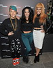 Stooshe Casio - pop-up store launch party at Covent Garden - Arrivals. London, England
