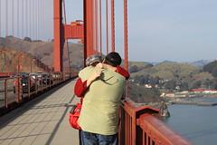 Will you marry me? (commishkorey) Tags: sanfrancisco engagement hug sfmoma buenavista goldengatebridge proposal unionsquare mosconecenter ggnpc11