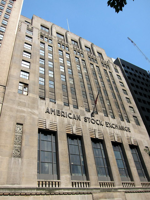 NYC - FiDi: American Stock Exchange Building