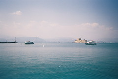 Film! (ingephotography) Tags: camera sea film zee greece disposable nafplio griekenland nauplio naufplio wegwerpcamera navplio wegwerp