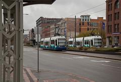 Meet at UW (Stephen De Vight) Tags: train rail transit link tacoma lightrail streetcar soundtransit tacomalink
