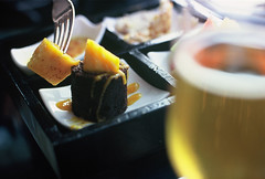 Cloud 9 bar (El Arano) Tags: china food film beer bar dessert nikon asia shanghai bokeh analogue  pudong jinmaotower fm2 grandhyattshanghai cloud9bar lplunch
