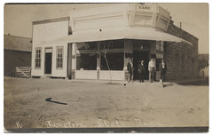 Junction State Bank (SMU Central University Libraries) Tags: men buildings texas banks rppc realphotographicpostcards