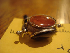 """Three-stone watch fob. • <a style=""""font-size:0.8em;"""" href=""""http://www.flickr.com/photos/51721355@N02/8411311217/"""" target=""""_blank"""">View on Flickr</a>"""