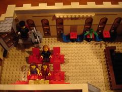 Finished Lego 10232 Palace Cinema XL MOD 30 april 2014 (LegoSjaak) Tags: cinema big al mod lego great large palace modular gross modified modding biggest groot 10232