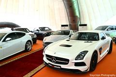 White Series. (Slayclops) Tags: show white black car mercedes benz series sls amg hilal slayclops