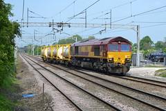 DB Schenker Class 66/0 66188 - Acton Brdge (dwb transport photos) Tags: diesel shed railway locomotive actonbridge dbschenker 66188