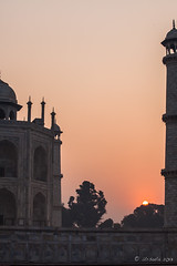 Taj Sunrise 2201 (Ursula in Aus) Tags: india architecture taj tajmahal unesco uttarpradesh earthasia