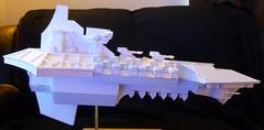 Devil's Claw Hades Class Heavy Cruiser (kevin dancey) Tags: gothic 40k warhammer starship battlefleet