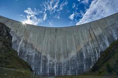 Moiry Barrage, Val d`Anniviers, Valais, Switzerland (swissukue) Tags: moirybarrage staumauer wallis valais switzerland dam architecture