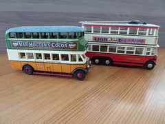1930 Leyland Titan TDI Bus/ 1931 Diddler Trolley Bus Scale 1/87 (thomaslion1208) Tags: bus coach oldtimer leyland h0 187 scale187 modell modellbau matchbox
