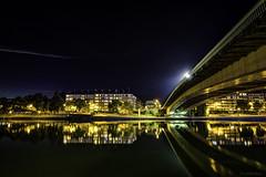 Namur Bridge (JMMINE) Tags: long exposure night meuse wallonie namur belgium bridge river light
