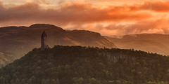 The Wallace Monument, Stirling (J McSporran) Tags: scotland stirling wallacemonument abbeycraig williamwallace landscape braveheart stirlingbridge canoneos6d ef70200mmf28lisiiusm