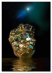 Kryptonite (Repp1) Tags: reflection flood mineral kryptonite pyrite foolsgold d300 flamingpear cs5