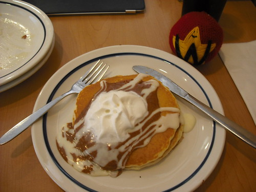 Cinn-a-stack Pancakes at IHOP