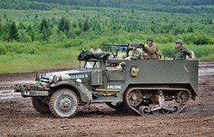 "White M3A1 Halftrack ""Arlene"" (The Adventurous Eye) Tags: white army nikon czech d military exhibition halftrack 7000 2011 m3a1 bahna d7000 nikond7000"
