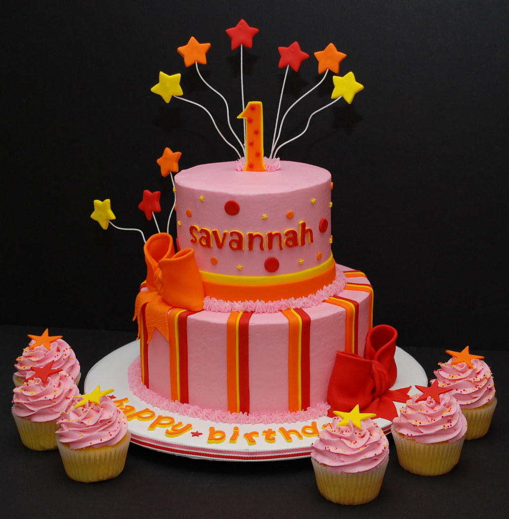 Stars & Stripes Birthday Cake