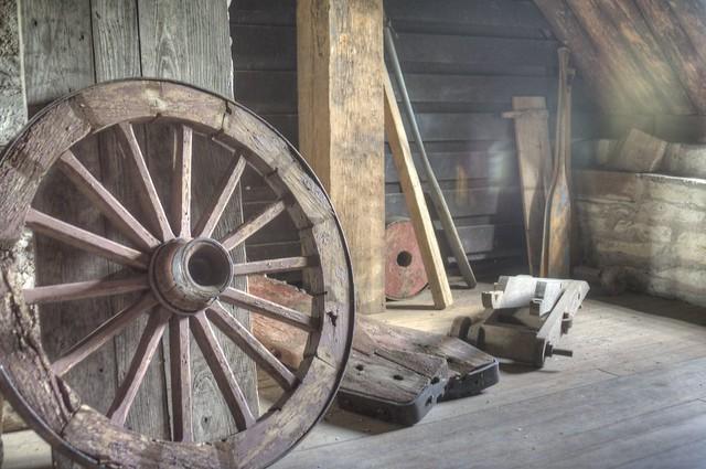 Retired Wooden Wagon Wheel Flickr Photo Sharing