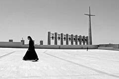 (Libano*) Tags: moon church blackwhite faith religion luna bn chiesa libano suora renzopiano bianconero fede sora biancoenero pilgrims padrepio pellegrini blackwithe religione sangiovannirotondo sanpio metafisico