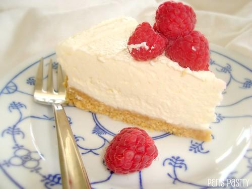 No-Bake 覆盆子Cheesecake
