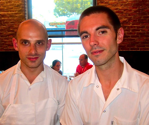 Chef Patrick Costa and Exec Jeff Mahin
